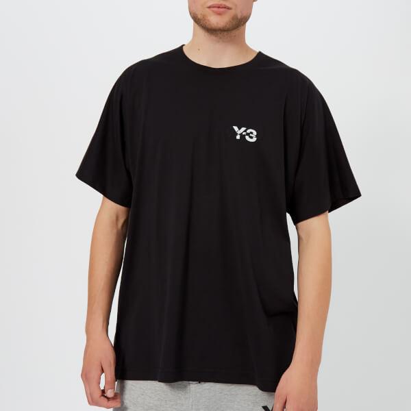 Y-3 Men's Signature Short Sleeve T-Shirt - Black
