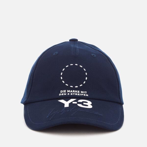 Y-3 Men's Street Cap - Night Indigo