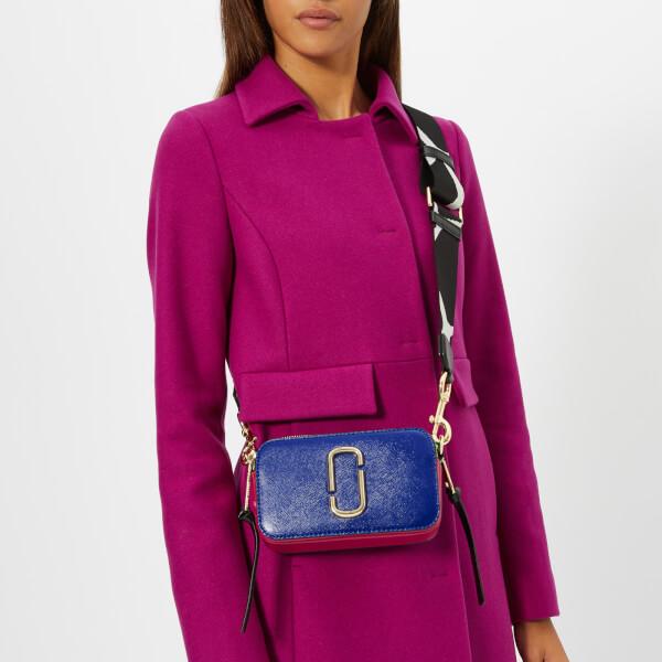 Marc Jacobs Women's Snapshot Cross Body Bag - Academy Blue/Multi: Image 21