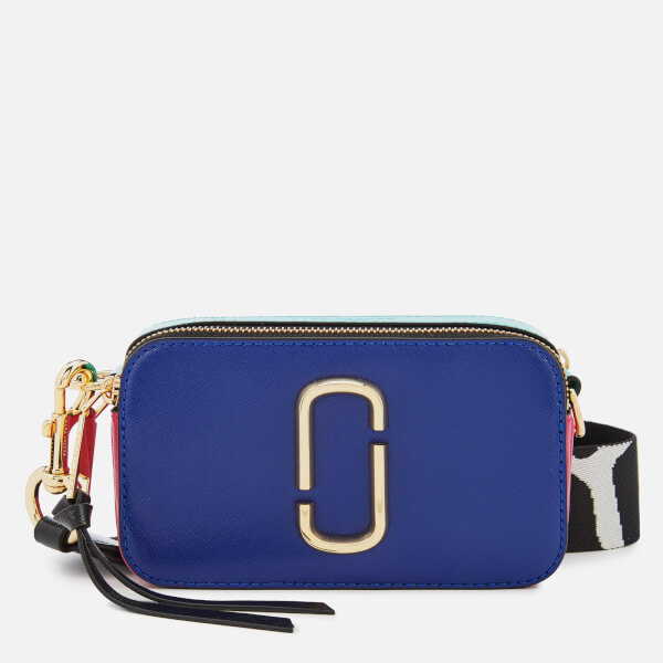Marc Jacobs Women's Snapshot Cross Body Bag - Academy Blue/Multi