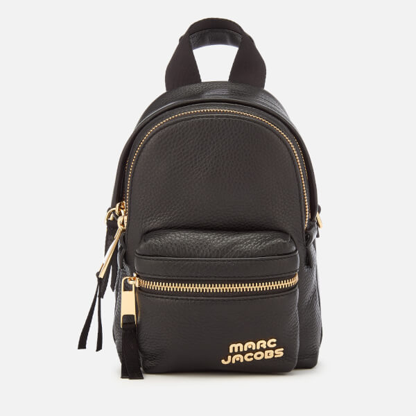 Marc Jacobs Women's Micro Backpack - Black