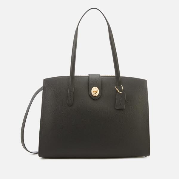Coach Women's Turnlock Charlie Carryall Bag - Black