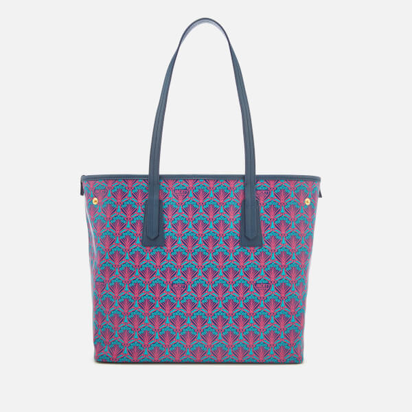 4d0009006 Liberty London Women's Iphis Marlborough Tote Bag - Navy: Image 1