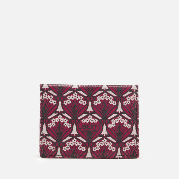 Liberty London Women's Iphis Travel Card - Oxblood