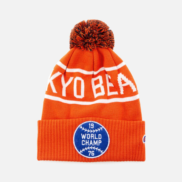 Champion X Beams Men's Beanie Cap - Orange