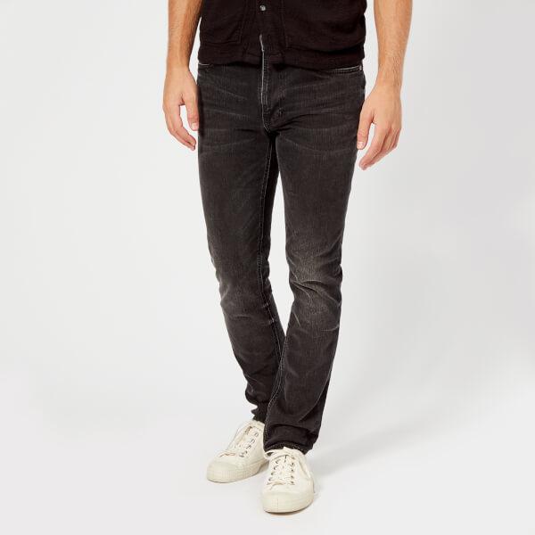 Nudie Jeans Men's Lean Dean Slim Jeans - Black Sage