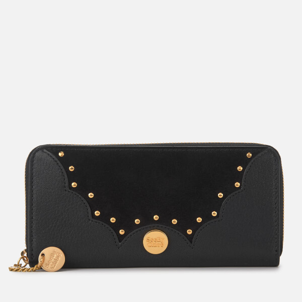 See By Chloé Women's Continental Wallet - Black