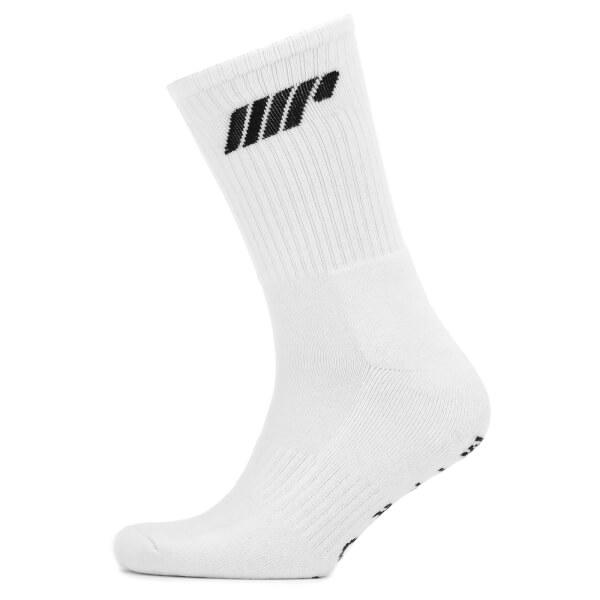 Myprotein 2 Pack Crew Socks - White