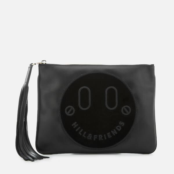 Hill & Friends Women's Slouchy Pouch Bag - Liquorice Black