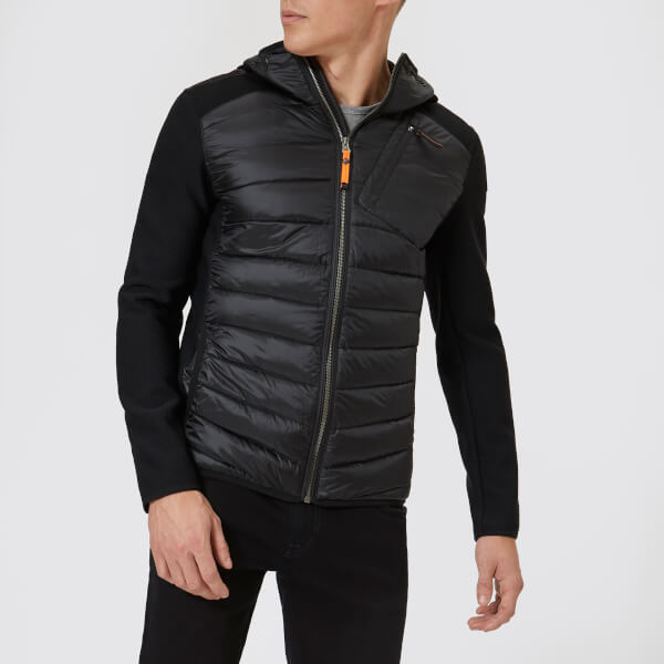 Parajumpers Men's Nolan Hybrid Jacket - Black: Image 1
