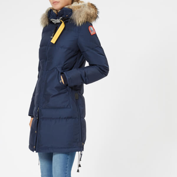 Parajumpers Women S Long Bear Coat Cadet Blue Womens