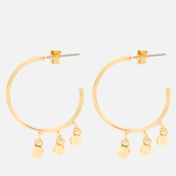Whistles Women's Multi Sphere Hoop Earrings - Gold