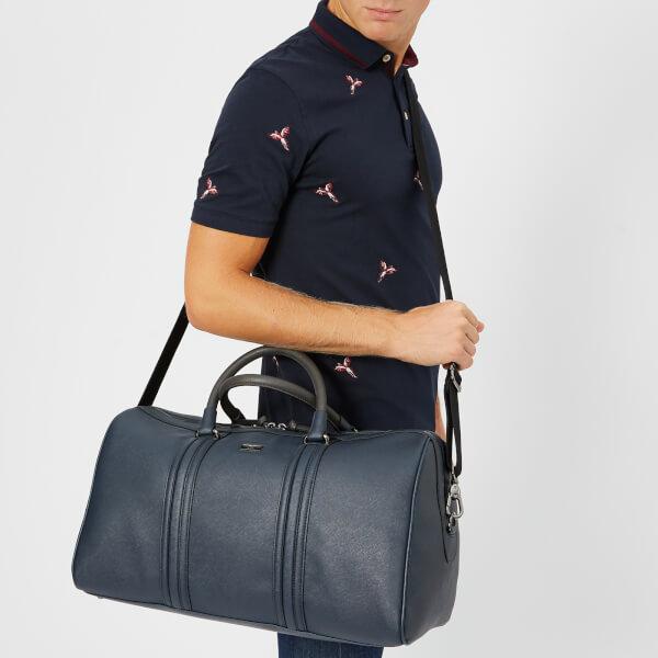 d972b5c9a3d9cf Ted Baker Men s Grankan Crossgrain Holdall Bag - Navy  Image 3