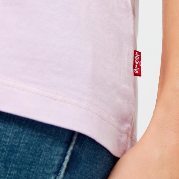 2dac19aa1c1c2 Levi s Women s The Perfect T-Shirt - Better Housemark Lavender  Image 4