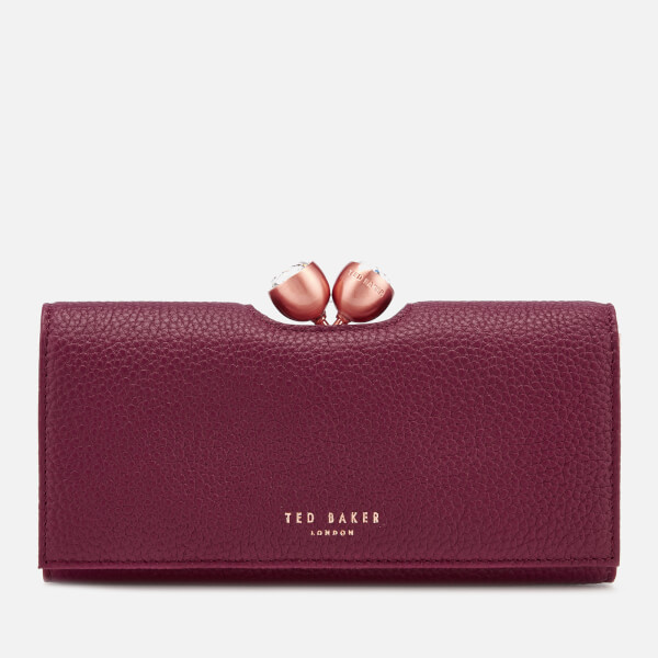 2ee97b9fcb04f4 Ted Baker Women s Muscovy Textured Bobble Matinee Purse - Maroon  Image 1