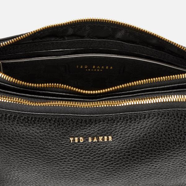 739337871 Ted Baker Women s Maceyy Tassle Double Zipped Cross Body Bag - Black  Image  5