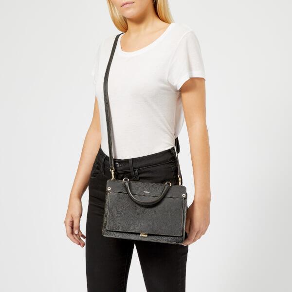 9b257594ecc1e Furla Women s Like Small Top Handle Bag - Onyx  Image 3