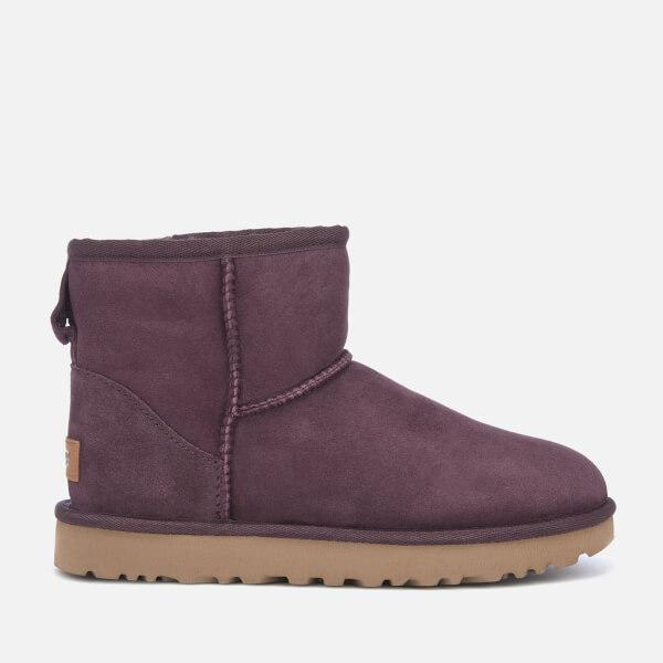 UGG Women's Classic Mini II Sheepskin Boots - Port