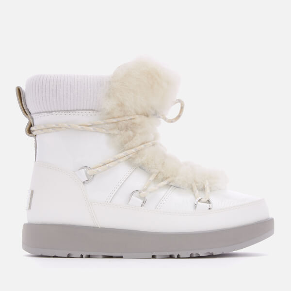 UGG Women's Highland Waterproof Boots - White
