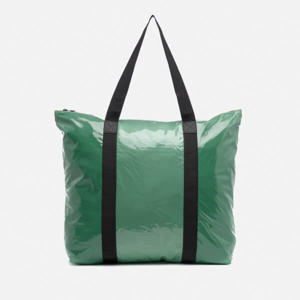 RAINS Glossy Ltd. Tote Bag - Faded Green