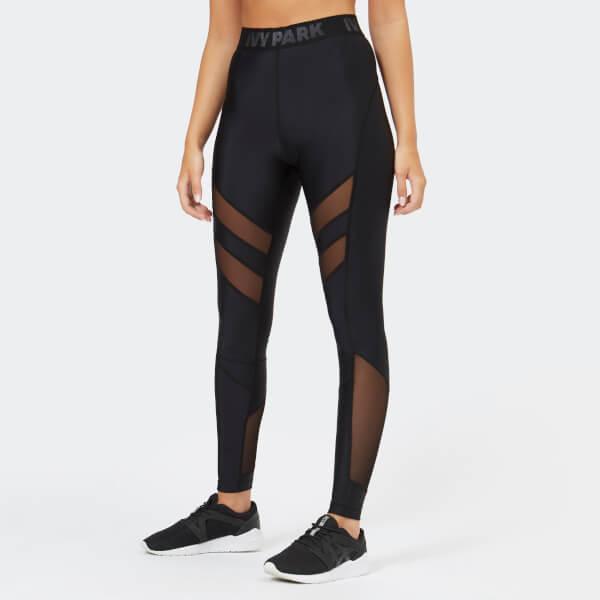 f609095ba78d Ivy Park Women s Regal Drape Leggings - Black Sports   Leisure ...