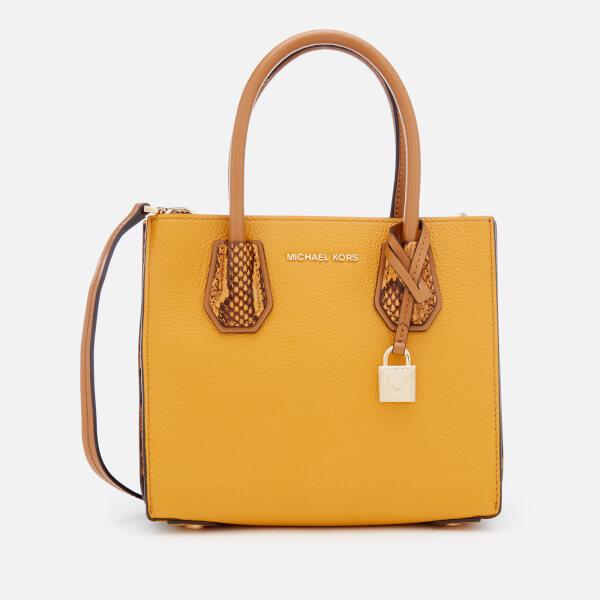 MICHAEL MICHAEL KORS Women's Mercer Medium Messenger Bag - Marigold