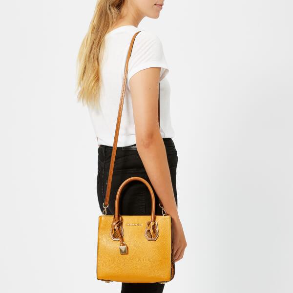 c647a866bb23 MICHAEL MICHAEL KORS Women's Mercer Medium Messenger Bag - Marigold: Image 3