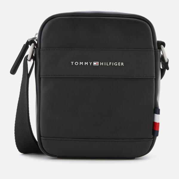2250e3cc74c5 Tommy Hilfiger Men s City Mini Reporter Bag - Black Mens ...