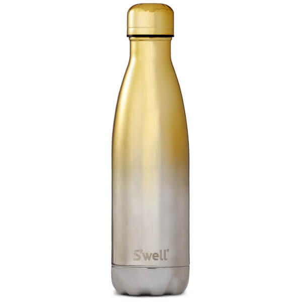 S'well Yellow Gold Ombre Water Bottle 500ml