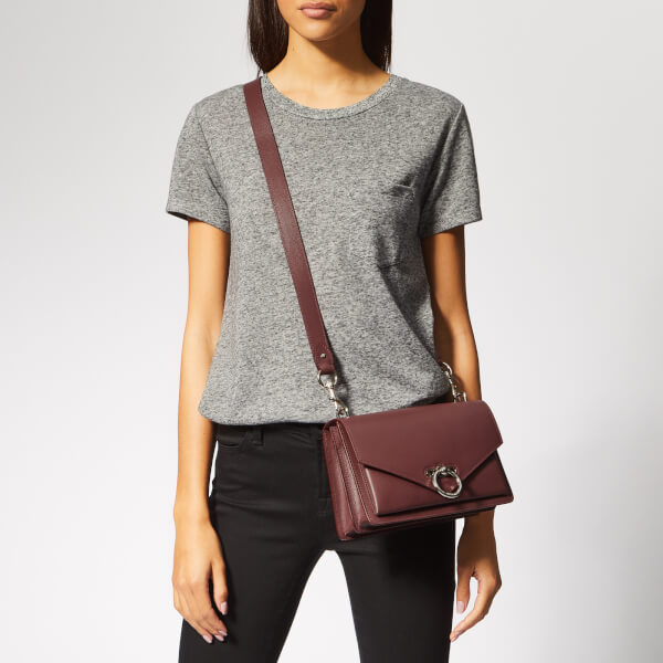 4270d04aadcc Rebecca Minkoff Women s Jean Medium Shoulder Bag - Bordeaux  Image 3