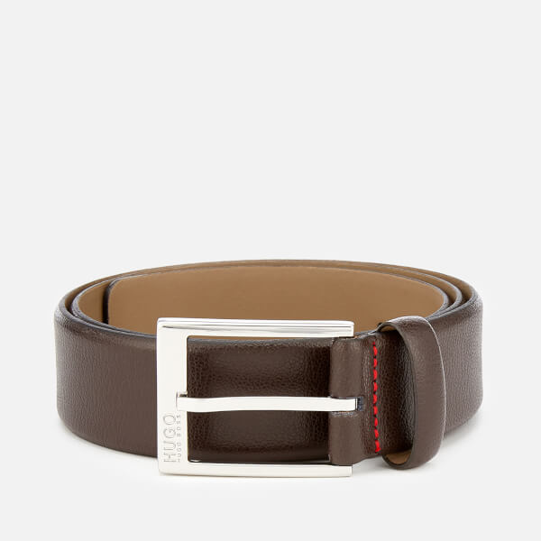 HUGO Men's Gellot Belt - Brown