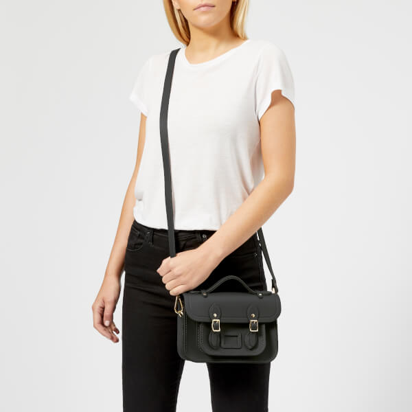 The Cambridge Satchel Company Women's Mini Satchel - Elephant Matte: Image 21