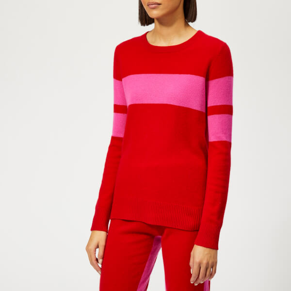 Madeleine Thompson Women's Pompiano Jumper - Pink/Red