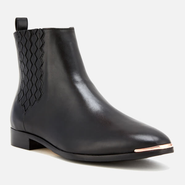 f353c4ea1 Ted Baker Women s Liveca Leather Chelsea Boots - Black  Image 2