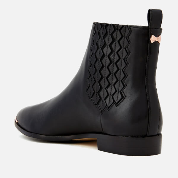 7a50d0f93 Ted Baker Women s Liveca Leather Chelsea Boots - Black  Image 3