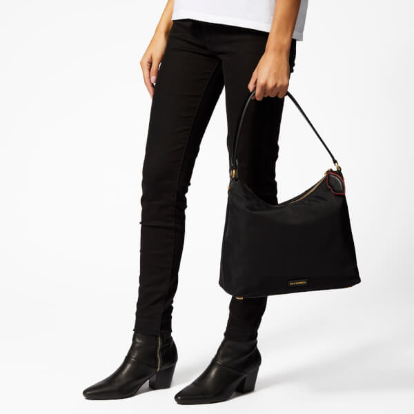 2662b0a2f8e761 Lulu Guinness Women's Cupid's Bow Lucilla Medium Bag - Black/Scarlet: Image  3
