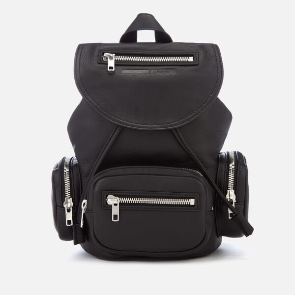 McQ Alexander McQueen Women s Mini Convertible Drawstring Bag - Black   Image 1 ea0b9265ce