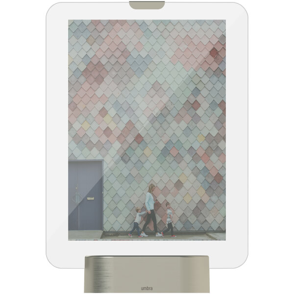 Umbra Glo LED Photo Display - Nickel (15cm x 30cm)