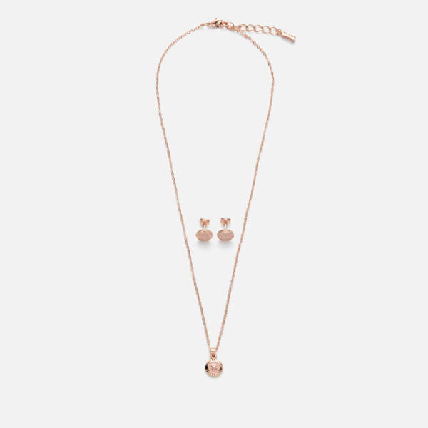 Ted Baker Women's Emillia Mini Button Gift Set - Rose Gold/Baby Pink