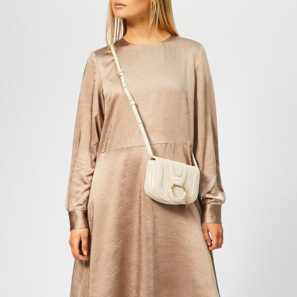 See By Chloé Women's Hana Cross Body Bag - Cement Beige: Image 21