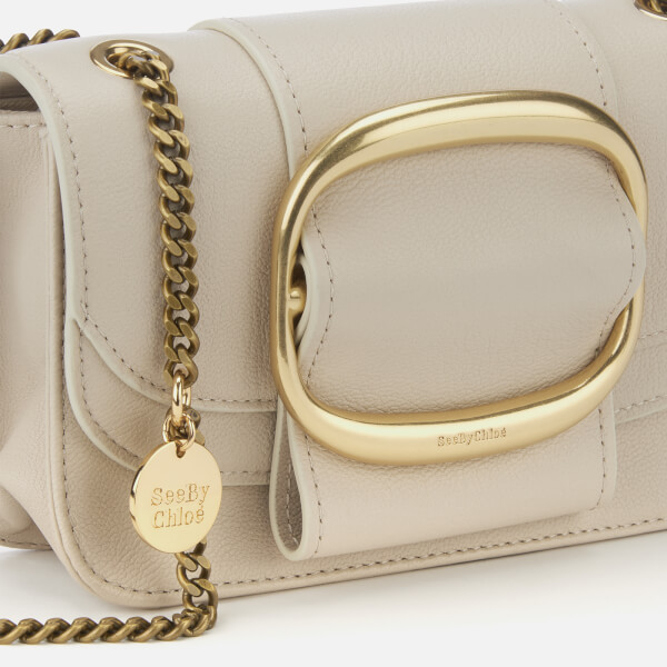 b3940adad422 See By Chloé Women s Small Hopper Cross Body Bag - Cement Beige  Image 4