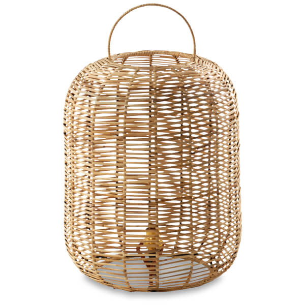 Nkuku Noko Wicker Lamp - Natural