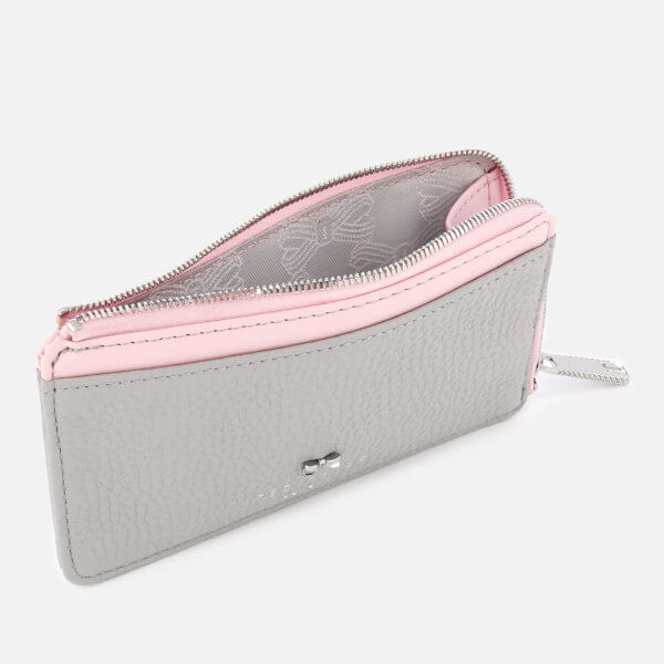 0939d90fa5ff Ted Baker Women's Lotta Bow Detail Credit Card Holder - Grey: Image 3