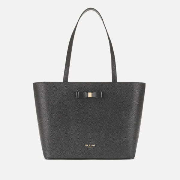 e9c0176e4 Ted Baker Women s Jjesica Bow Detail Shopper Bag - Black  Image 1