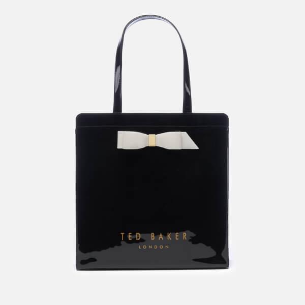 c2bd28635cc60b Ted Baker Women s Almacon Bow Detail Large Icon Bag - Black Clothing ...