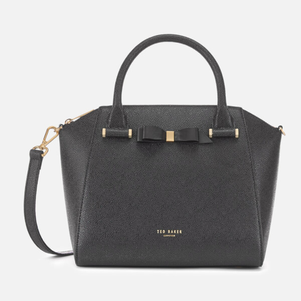 8183a52417 Ted Baker Women's Janne Bow Detail Zip Tote Bag - Black: Image 1