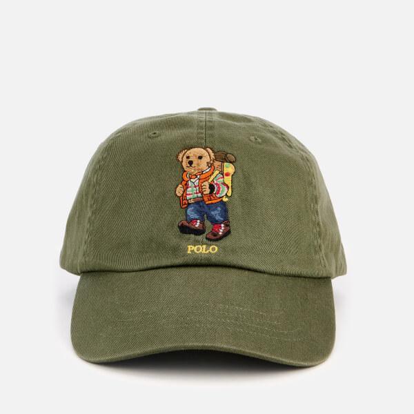 Polo Ralph Lauren Men's Bear Logo Cap - Supply Olive