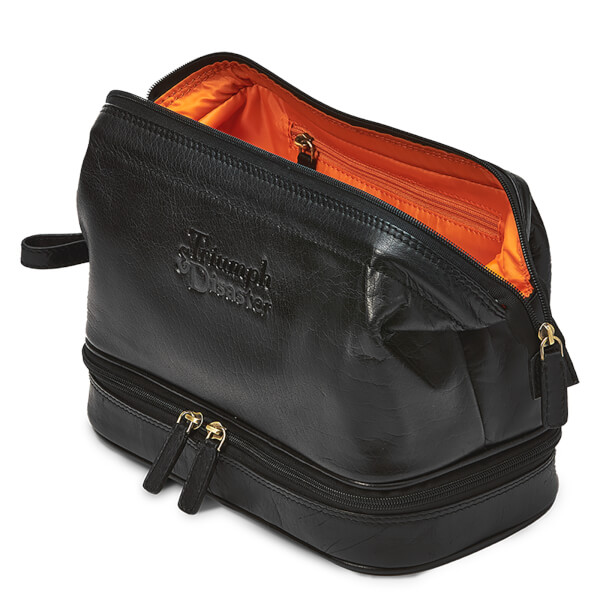 70e37dcb82ef Triumph   Disaster Frank the Dopp Toiletries Bag - Black  Image 1
