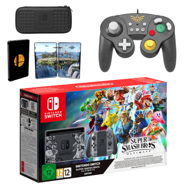 Ultimate Special Edition Bundle Cooperative Super Smash Bros box Only