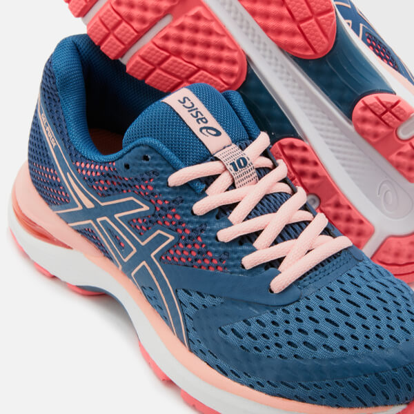 7b3810caf54 Asics Women s Running Gel Pulse 10 Trainers - Grand Shark Baked Pink  Image  4